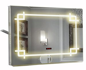 Demister 168 LED Light Mirror with Bluetooth