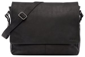 LEABAGS Oxford genuine buffalo leather messenger bag